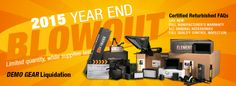 Ikan is having an end of the year BLOW OUT sale on select certified refurbished demo gear. These crazy discounts are only available on limited quantities for a short while. All sale items include full manufacturer's warranty and include all original accessories. DON'T MISS OUT! ORDER TODAY!
