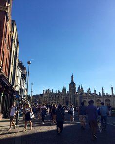 My Photo : Cambridge , England