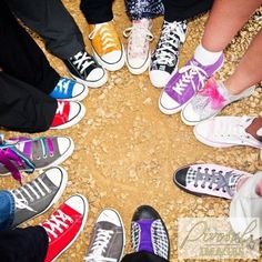 My wedding day.  9/3/11.  Our wedding party wore Converse!