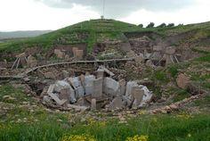 Göbeklitepe-Urfa, 9600 BC (11.600 years ago)