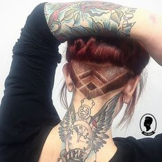 Image result for celtic designs for undercuts                                                                                                                                                                                 Más