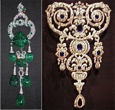Both from the collection of Marjorie Merriweather post