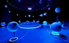 "Allestimento ""The Universe"", Museo Wuhan, Cina"