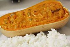 no soup for you: Abóbora Manteiga Recheada