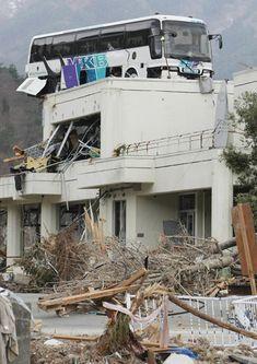 Tsunami, Japan, 2011.