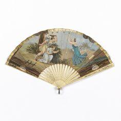 Pleated Fan (Italy), early 19th century