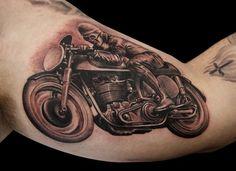 Bike tattoo :) #tattoo