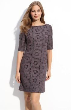 Adrianna Papell Lace dress $68.90 (originally 138) @Nordstrom