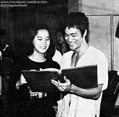 Nora Miao & Bruce Lee