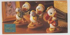 Walt Disney Classic Collection (WDCC) Donald Duck Nephews Promotional Print