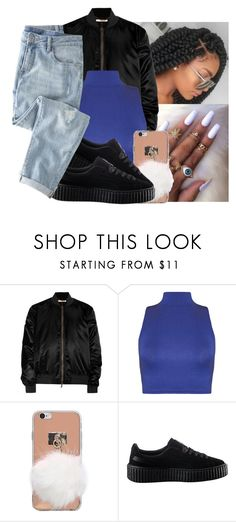 """""""Sweater weather """" by eazybreezy305 ❤ liked on Polyvore featuring Givenchy, WearAll, Puma, Wrap, cute, sweaterweather and Fall2016"""