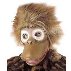 Careta de Mono #mascaras #antifaces #carnaval