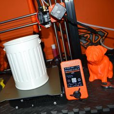 Desk Trash Can printed by de3dprintman #prusamini #practical