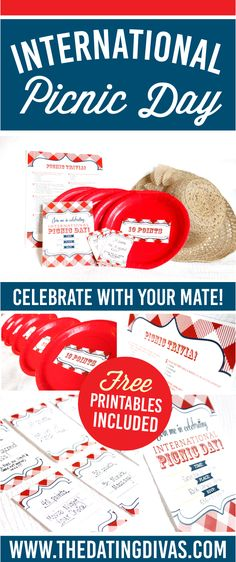 Always looking for a fun outdoor date! Can't wait to do this fun picnic! Gotta love FREE Printables! www.TheDatingDivas.com