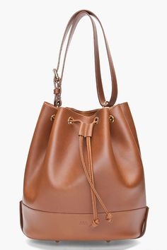 A.P.C. //  CARAMEL BUCKET BAG