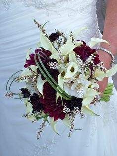 Wine country bridal bouquet.  Floral design by Nina  www.byrequest.us