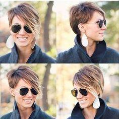 Du magst trendy Kurzhaarschnitte und möchtest gleichzeitig eine auffallende Frisur? Lass Dich von diesen 10 originellen, lässigen Frisuren inspirieren ... - Neue Frisur