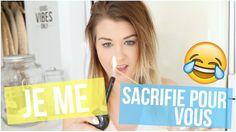 [ TEST N°2 ] : JE ME SACRIFIE POUR VOUS !
