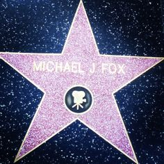 Walked the Hollywood walk of fame today (: I  michael j fox ! Back to the Future