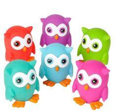 Hey, I found this really awesome Etsy listing at https://www.etsy.com/listing/490489985/owl-squirts-6-party-favorscupcake