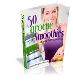 green smoothies. Have't read this book--yet!