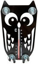 Owl thermometer from Pluto by Pluto Garden Owl, Design3000, Interior Design Programs, Thermometer, Weather Vanes, Ramen, Home Accessories, Phone, Gifts