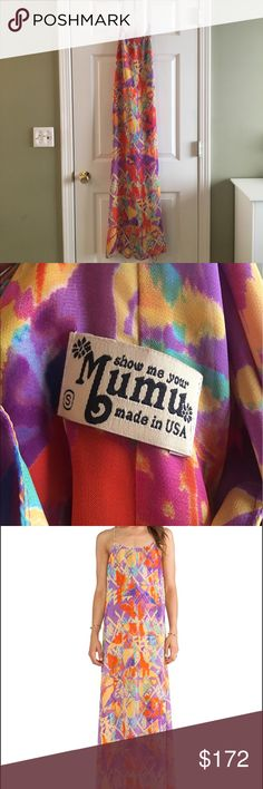 Show Me Your Mumu T-Rex Maxi in Dakota Fanny Pack IN PERFECT CONDITION Show Me Your MuMu Dresses Maxi