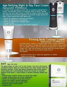 Have questions about these awesome products???  Contact me today!   www.talimartin.nerium.com