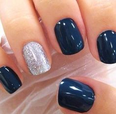 Unghie Blu e Argento
