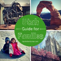 Utah Guide for Families. Such a great resource! #vacation #travel #utah