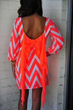 Cheveryone's Favorite Dress: Neon Orange