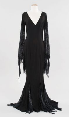 Morticia Addams dress from Addams Family Values Estimate $2,000 - $3,000 Starting Bid $2,000