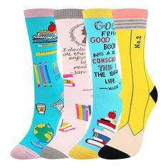 Fashionable Tube Socks Novel Calf High Sport Socks Alpaca Cactus Suitable For Both Men And Women