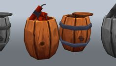 Low-poly explosive barrel has just been added to GameDev Market! Check it out: http://ift.tt/1S4D9xT #gamedev #indiedev