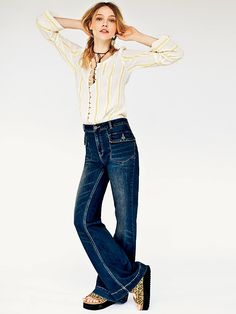 Free People Tailored Flare at Free People Clothing Boutique