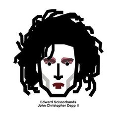 #johnny #depp #edward #scissorhands #barber #character #design #조니댑 #가위손