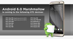 HTC One M8 : Android Marshmallow 6.0 aux portes de l'Europe