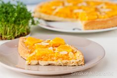 Pomarańczowy mazurek wielkanocny Yami Yami, Macaroni And Cheese, Pineapple, Easter, Baking, Fruit, Ethnic Recipes, Sweet, Holiday