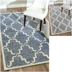 Hand Tufted Of A 100 Percent Wool Pile This Handmade Rug Features Special High Low Construction To Add Depth And Unusual Detailing Inspired