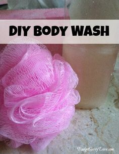How to Make DIY Body Wash