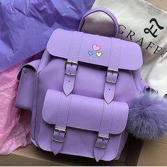 Backpacks are no longer reserved for school children. Cute Mini Backpacks, Stylish Backpacks, Fashion Bags, Fashion Backpack, Sacs Louis Vuiton, Cool School Supplies, Kawaii Bags, Back Bag, Girls Bags
