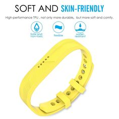 Sunny Yellow Wristband Band Bracelet Strap Accessories for Fitbit Flex 2 for sale online Fitbit Alta, Sunnies, Band, Yellow, Bracelets, Accessories, Sash, Sunglasses, Shades