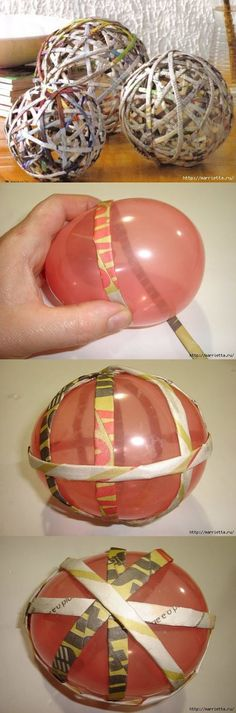 rolled paper decoration ball