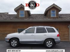 2005 Hyundai Santa Fe GLS | B & D Auto Sales Inc  4820 Cornhusker Hwy Lincoln, NE 68504  (402) 464-4279  http://bd-auto.com/ #Cars #B&DAutoSales #UsedCars #Lincoln #Nebraska