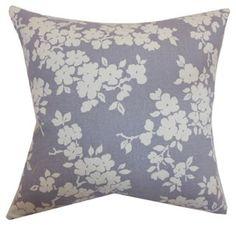 Vieste Floral Pillow, Lavender