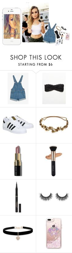 """oorn"" by l0st-demig0ds ❤ liked on Polyvore featuring beauty, Monki, Free People, adidas, Jennifer Behr, Bobbi Brown Cosmetics, L'Oréal Paris, Betsey Johnson and Casetify"