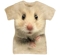 Kingdom of the Wild Hamster Ladies Tee Shirt