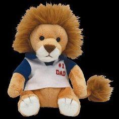 TY Beanie Babies My Dad   - Fathers Day Lion