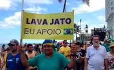 Vendas crescem e Campanha #LavaJatoEuApoio toma ruas #LulaNaCadeia #SOSFFAA já!
