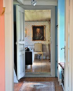 Interior Color. Kulleruds Manor, Sweden